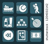contains such icons as strategy ... | Shutterstock .eps vector #1204032142