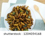 cuisine and food  thai...   Shutterstock . vector #1204054168