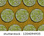 textile fashion  african print... | Shutterstock .eps vector #1204094935
