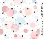watercolor texture in pastel...   Shutterstock .eps vector #1204111285