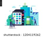 business series  color 3  ... | Shutterstock .eps vector #1204119262