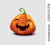 happy halloween. vector... | Shutterstock .eps vector #1204131328