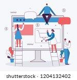 vector illustration of the... | Shutterstock .eps vector #1204132402