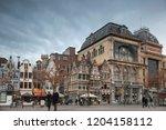 ghent  belgium   december 11 ... | Shutterstock . vector #1204158112