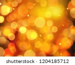 Bright Warm Orange Gold Glowin...