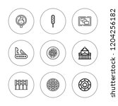 on line icon set. collection of ... | Shutterstock .eps vector #1204256182