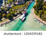 aerial view of annecy lake...   Shutterstock . vector #1204259182