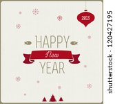happy new year 2013 | Shutterstock .eps vector #120427195