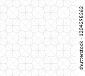 art deco seamless background. | Shutterstock .eps vector #1204298362