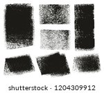 paint roller rough backgrounds  ... | Shutterstock .eps vector #1204309912