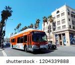 hollywood  los angeles ... | Shutterstock . vector #1204339888