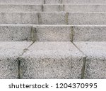 sandstone stairs or floor... | Shutterstock . vector #1204370995