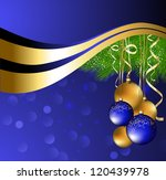 christmas background | Shutterstock .eps vector #120439978
