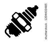 vector car spark plug... | Shutterstock .eps vector #1204433485