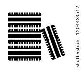 vector car tyre illustration  ... | Shutterstock .eps vector #1204433512