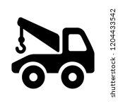 vector truck illustration  ... | Shutterstock .eps vector #1204433542