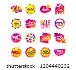 sale banner templates design....   Shutterstock .eps vector #1204440232