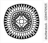 tribal tattoo design creative... | Shutterstock .eps vector #1204470925