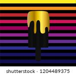 colorful ice cream background... | Shutterstock .eps vector #1204489375