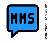 multimedia messaging service   Shutterstock .eps vector #1204502185