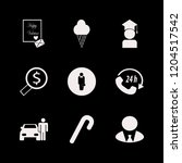 happy icon. happy vector icons... | Shutterstock .eps vector #1204517542