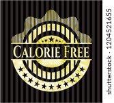 calorie free shiny badge | Shutterstock .eps vector #1204521655