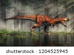 3d illustration  3d rendering ... | Shutterstock . vector #1204525945