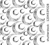 abstract vector pattern with... | Shutterstock .eps vector #1204539328