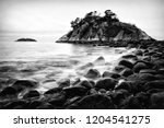 whyte islet tide. time lapse... | Shutterstock . vector #1204541275