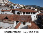 taxco is a small city located... | Shutterstock . vector #120455548
