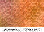 light orange vector pattern...   Shutterstock .eps vector #1204561912