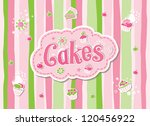cake label doodle vector design | Shutterstock .eps vector #120456922