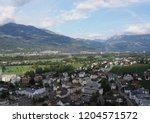 vaduz  liechtenstein on august... | Shutterstock . vector #1204571572