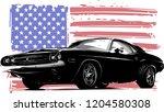 vector graphic design... | Shutterstock .eps vector #1204580308