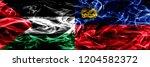 palestine vs liechtenstein ... | Shutterstock . vector #1204582372