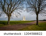 the canadian national vimy... | Shutterstock . vector #1204588822