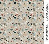 naturalistic marble floor  with ... | Shutterstock . vector #1204590028