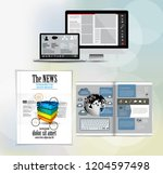 template vector design ready... | Shutterstock .eps vector #1204597498