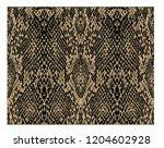 snake skin pattern texture... | Shutterstock .eps vector #1204602928