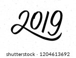 2019 happy new year of the pig. ...   Shutterstock . vector #1204613692