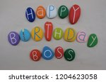Happy Birthday Boss With...