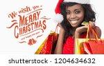 digital composite of we wish... | Shutterstock . vector #1204634632