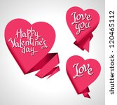 valentine's day vector... | Shutterstock .eps vector #120465112
