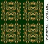 vector geometric seamless... | Shutterstock .eps vector #1204671262