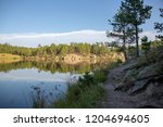 Legion Lake At Custer State...