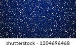 random falling stars christmas... | Shutterstock .eps vector #1204696468