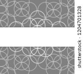 geometric white and gray... | Shutterstock .eps vector #1204701328