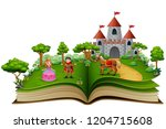 Story Book With Cartoon...