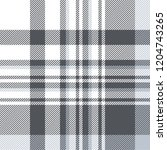 plaid check patten in slate... | Shutterstock .eps vector #1204743265