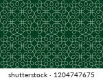 seamless abstract linear... | Shutterstock .eps vector #1204747675